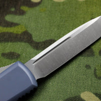 Microtech UTX-85 Gray Single Edge OTF Knife Satin Blade 231-4 GY