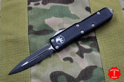 Microtech UTX-85 Black D/E Knife Black Blade 232-1