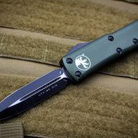 Microtech UTX-85 OD Green D/E Knife Black Tactical Blade 232-1 OD