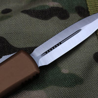 Microtech UTX-85 Tan D/E Knife Satin Blade 232-4 TA