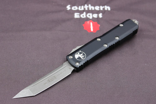 Microtech UTX-85 Black Tanto T/E Knife Apocalyptic Blade 233-10 AP