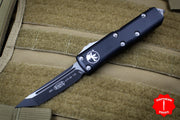 Microtech Black UTX-85 Tanto Edge OTF Knife Black Blade 233-1