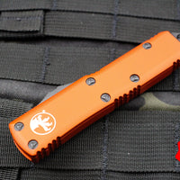 Microtech Orange UTX-85 Tanto Edge OTF Knife Black Blade 233-1 OR
