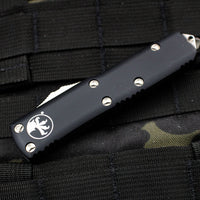 Microtech UTX-85 Black Tanto Edge OTF Knife Part Serrated Satin Blade 233-5