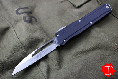 Microtech Cypher MK7 BLACK SE Stonewash Finish with Standard Hardware 241M-10