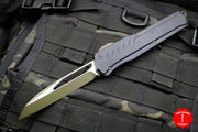 Microtech Cypher MK7 Black SE Green Blade and Hardware 241M-1 GRB