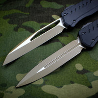 Microtech Cypher MK7 Serial Number 02 SET Black SE and DE Tan Blade and Black Hardware 241M-1 TNBK 242M-1 TNBK