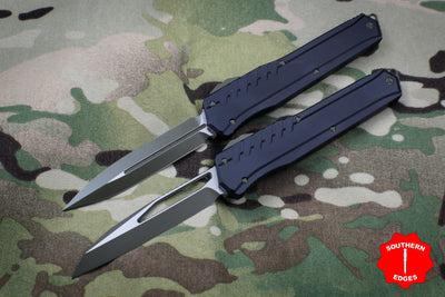 Microtech Cypher MK7 Serial Number 02 SET Black SE and DE Green Blade and Hardware 241M-1 GRB 242M-1 GRB