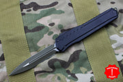 Microtech Cypher MK7 Black DE Green Blade Green Chip Black HW 242M-1 GRBK