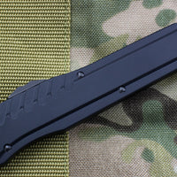 Microtech Cypher MK7 Black DE Green Blade Green Chip Black HW 242M-1GRBK