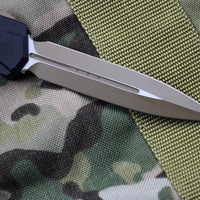 Microtech Cypher MK7 Black DE Tan Blade and Hardware 242M-1TNB