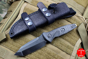 Marfione Custom Mini Socom Alpha Tanto Star Grind Hand Rubbed DLC Blade Carbon Fiber Handle