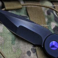 Marfione Custom LUDT with Compound Ground DLC/Apocalyptic Blade Carbon Fiber Inlaid Button and Purple Haze HW 335-MCK DLCAPCFPH