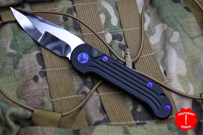 Marfione Custom LUDT with Compound Ground Mirror Blade and Purple Haze HW 335-MCK HPPH