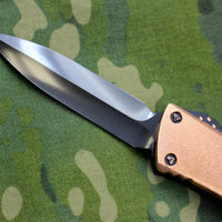 Marfione Custom Combat Troodon Double Edge DE Copper Top Spike Grind DLC Blade 342-MCK DE DLCSGCUTOP