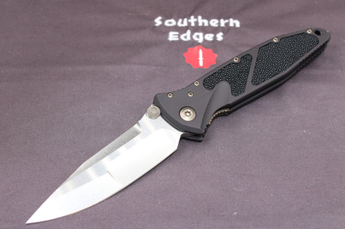 Marfione Custom Socom Elite Single Edge Two-tone Stonewash Compound Ground Stingray Inlay 360-MCK SETTSW