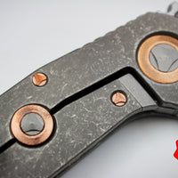Marfione Custom Warhound Folder Two-Tone Apocalyptic Finish Eggshell Copper Accents 391-MCK APCU