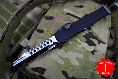 Marfione Custom Halo VI Warhound Mirror Polish Blade Blue Titanium Hardware 393-MCK WHHP