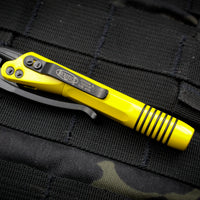 Microtech Siphon II Yellow With DLC Internals 401-SS-DYW