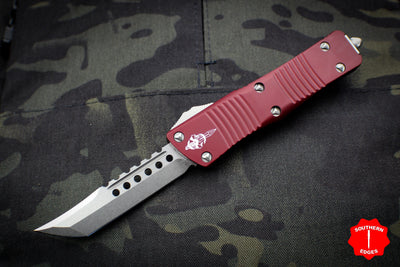 Troodon Hellhound Merlot Handle Stonewash Blade 619-10 MR