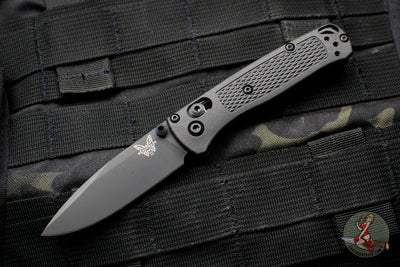 Special First Production Benchmade Bugout Black CF-Elite Body Black Blade 535BK-2