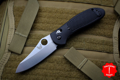 Benchmade Griptilian Satin Sheepsfoot Blade in S30V Steel with Black Body 550-S30V