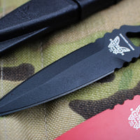 Benchmade SOCP Combo black fixed blade tactical dagger 176BK-COMBO