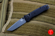 Benchmade Bailout Black Body Gray Tanto Plain Edge 537GY