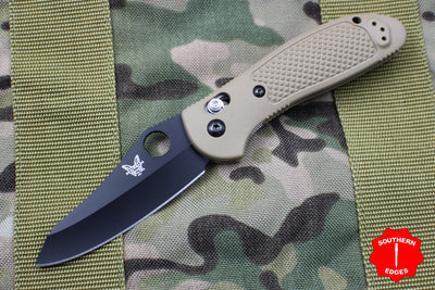 Benchmade Griptilian Black Sheepsfoot Blade With Sand Body 550BKHGSN