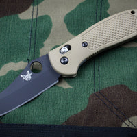 Benchmade Griptilian Black Sheepsfoot S30V Blade With Sand Body 550BKSN-S30V