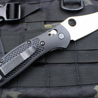 Benchmade Griptilian Satin Sheepsfoot Blade With Black Body 550HG