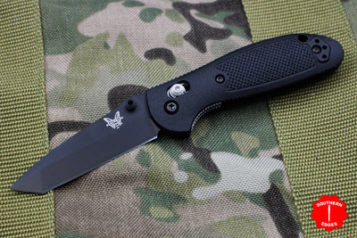 Benchmade Mini-Griptilian Black with Black Tanto Blade 557BK