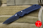 Benchmade Mini-Auto Stryker Black Tanto Black Body 9501BK