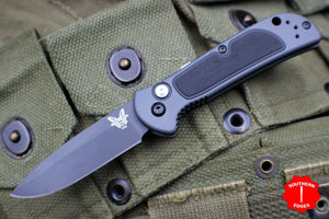 Benchmade Coalition OTS Auto Black Drop Point Gray Body 9750BK
