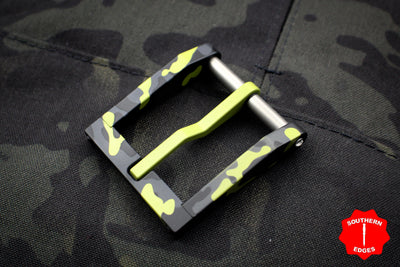 Blackside Customs Mojito Camo Modular Belt Buckle - Aluminum