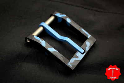 Blackside Customs Polar Blue Multicam Modular Belt Buckle - Aluminum