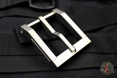 Blackside Customs Modular Belt Buckle - Titanium- Stonewashed