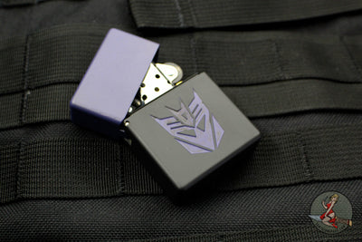 Blackside Customs Brass Lighter - Decepticon Edition