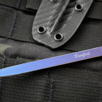 Crawford Knives Devil Dart Purple Anodized Titanium