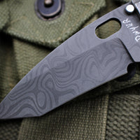 Duane Dwyer Custom Goods BBN-M Custom Folder Magnesium Plate Damascus