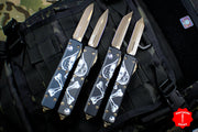 Microtech DEATH CARD SET OF 4 Ultratechs OTF Knife Bronze Blade