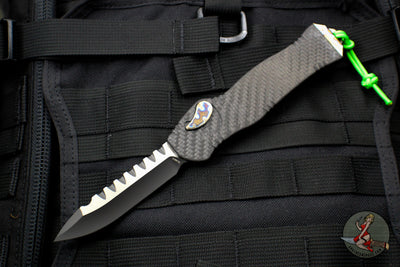 Heretic Hydra Single Edge OTF Carbon Fiber with Flamed Hardware H007-11A-CF/FTi/FTi