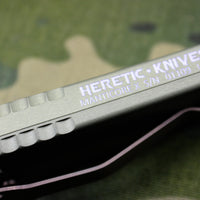 Heretic Manticore-X OTF Auto Green Tanto Edge with Battleworn Bronze Blade H031-7A-GREEN
