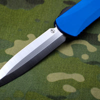 Heretic Manticore-X OTF Auto Blue Double Edge With Satin Blade H032-1A-BLUE
