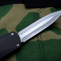 Heretic Manticore-X OTF Auto Black Double Edge With Stonewash Blade H032-2A