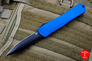 Heretic Manticore-X OTF Auto Blue Double Edge With DLC Blade H032-6A-BLUE