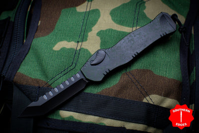 Heretic Hydra Breakthrough Green OTF with Black Tanto Edge and Black Hardware H006-6A-BRKGR