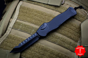 Heretic Hydra Black Tactical OTF with Black Tanto Edge with Black Hardware H006-6A-T