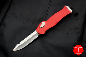 Heretic Hydra Red OTF with Stonewash Single Edge H007-2A-RD