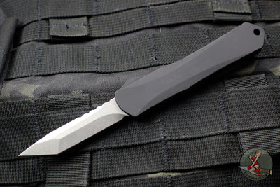 Heretic Manticore-S OTF Auto Black Tanto Edge With Stonewash Blade H023-2A